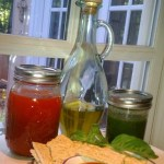 Infused Oils from Basil, Garlic & Chipotle
