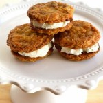 Cinnamon Cookie Ice Cream Sandwiches