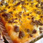 Egg & Sausage Breakfast Bake