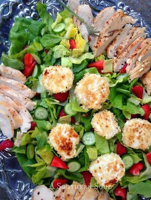 Chicken & Goat Cheese Salad