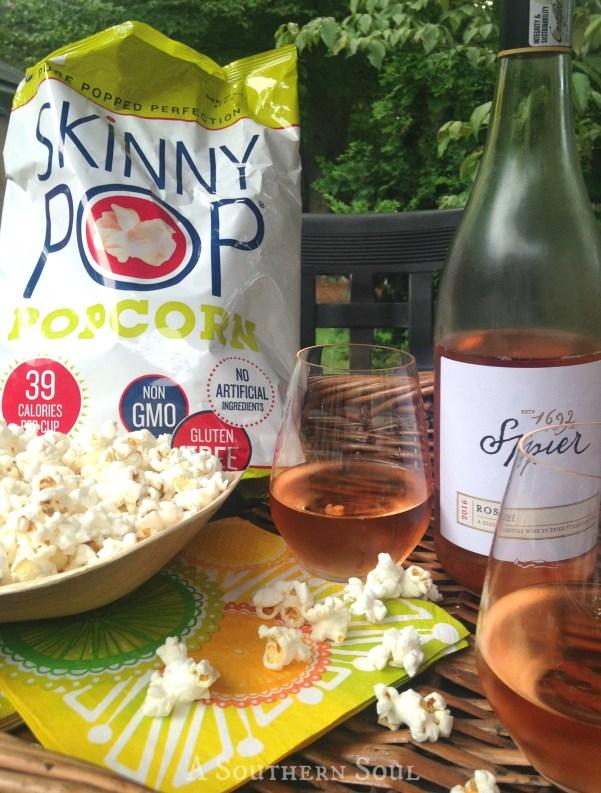 skinny pop & wineWM