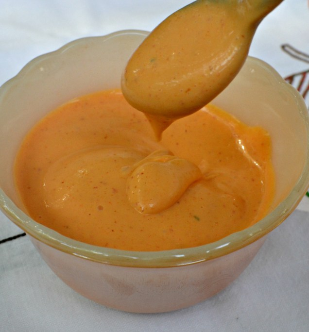 spicy mayo dripping