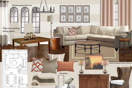 moodboard transitional living dining astch