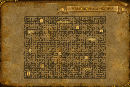 Map wailing caverns wailingcaverns wailing caverns wailing publicscrutiny Image collections