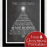 This Christmas Free Printable