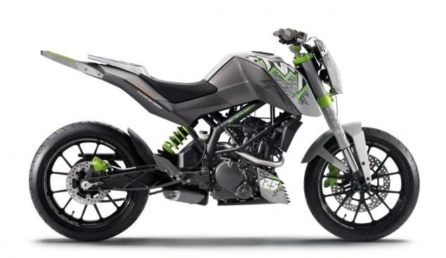 KTM 125 Race Concept & KTM 125 Stunt Concept Targets Young Hooligans for the KTM Brand ktm 125 stunt concept 1 635x368