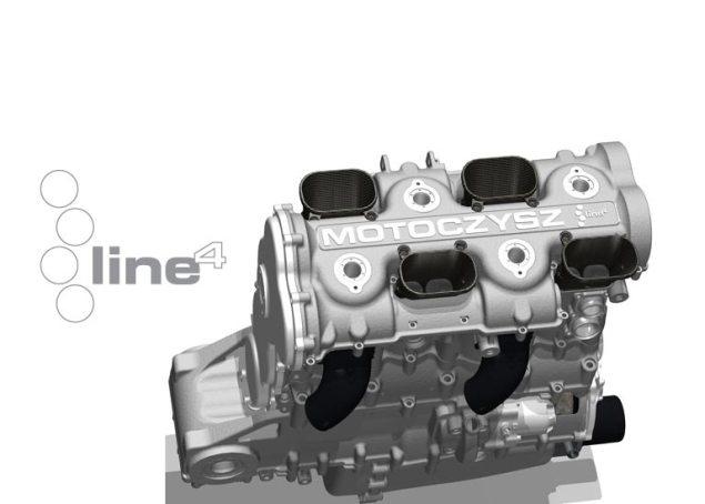 MotoCzysz Makes 2012 MotoGP Bid? [Updated] MotoCzysz C1 990 motor render 635x454