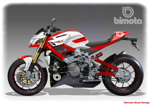 Bimota DB8   1098 Naked Bike Coming Friday Bimota DB7 naked Oberdan Bezzi 635x440