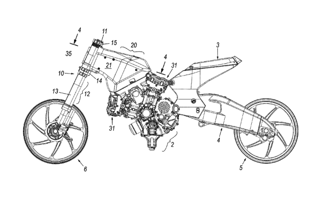 Ducati Applies for Frameless Motorcycle Patent Ducati frameless patent 635x408