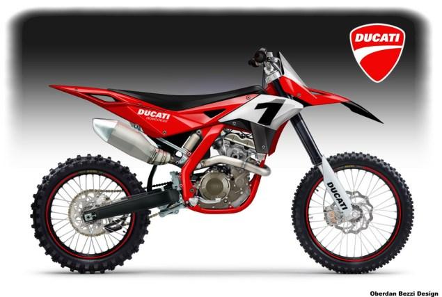 Bezzi Imagines Ducati Dirt/Supermotard Bikes Oberdan Bezzi Ducati Desmocross concept 635x427