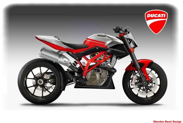 Ducati Desmolight 450 Concept by Oberdan Bezzi Oberdan Bezzi Ducati Desmolight concept 635x427