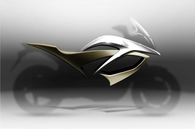 Honda VFR Adventure Concept   A Naked VFR1200F? Honda VFR adventure concept 635x421