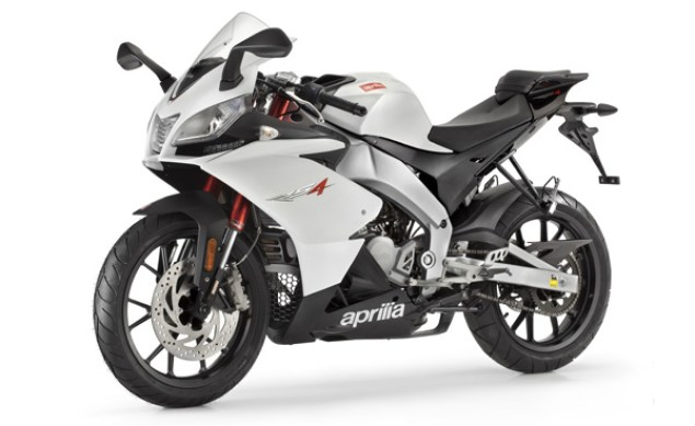 Aprilia RS4 125 Video   Who The Hell is This Bike For? Aprilia RS4 125 white