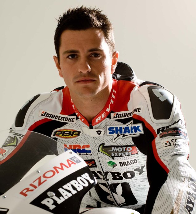 Randy de Puniet Signs on with Pramac Ducati for 2011 Randy de Puniet LCR Honda 635x694