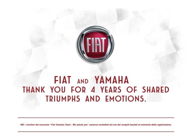 Fiat Officially Says Ciao to Yamaha Fiat Yamaha goodbye 635x448