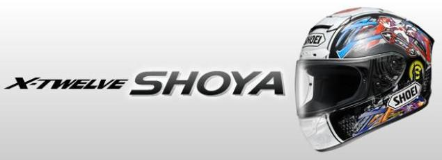 Shoei Honors Tomizawa with Limited Edition Helmet shoei x twelve shoya