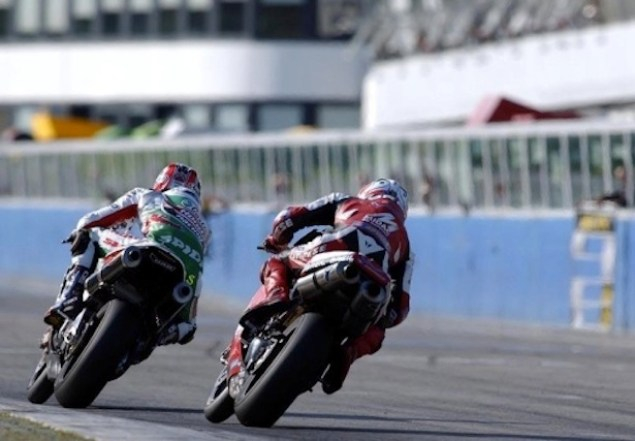 Castrol Honda Talks about Being Castrol Honda Colin Edwards Troy Bayliss Imola WSBK Race 2