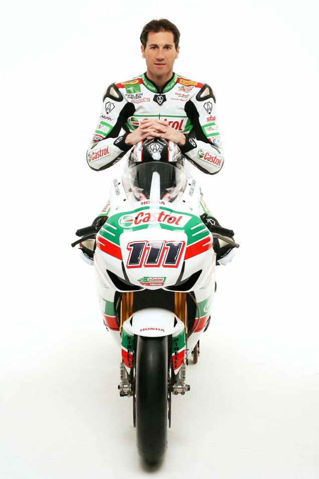 Ruben Xaus to Start 200th WSBK Race at Phillip Island Ruben Xaus Castrol Honda WSBK 3 635x952