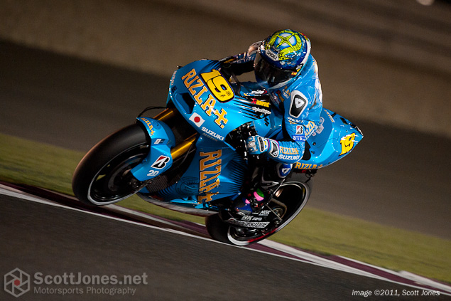 Álvaro Bautista Breaks Femur in FP3 at Qatar GP T2P6278