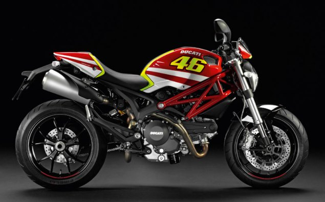 Ducati's First Valentino Rossi Branded Motorcycle Valentino Rossi Monster Art 1 635x396