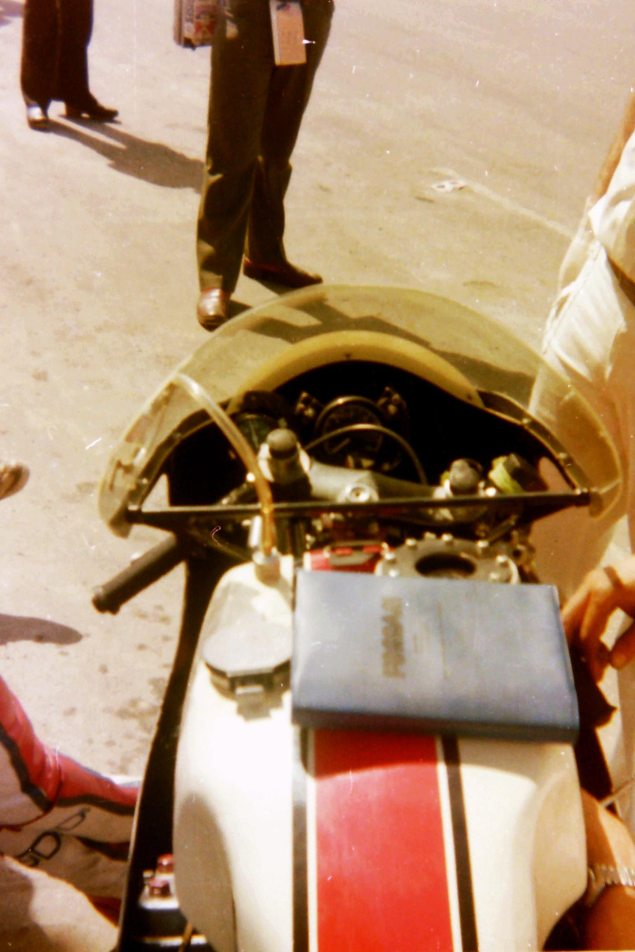 Photos: The Daytona 200 Thirty Five Years Ago   When Bikes Were Bikes & Men Were Men book on bike1 635x952