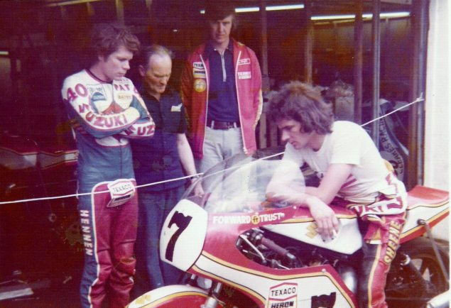Photos: The Daytona 200 Thirty Five Years Ago   When Bikes Were Bikes & Men Were Men bsheene1976 635x434