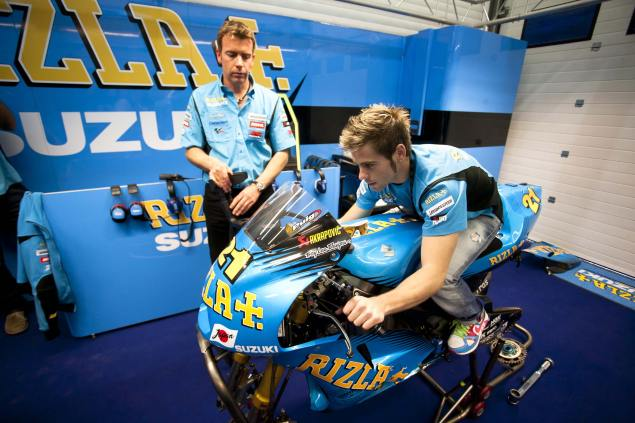 Álvaro Bautista Hopeful for Estoril Return to MotoGP Rizla Suzuki Alvaro Bautista 635x423
