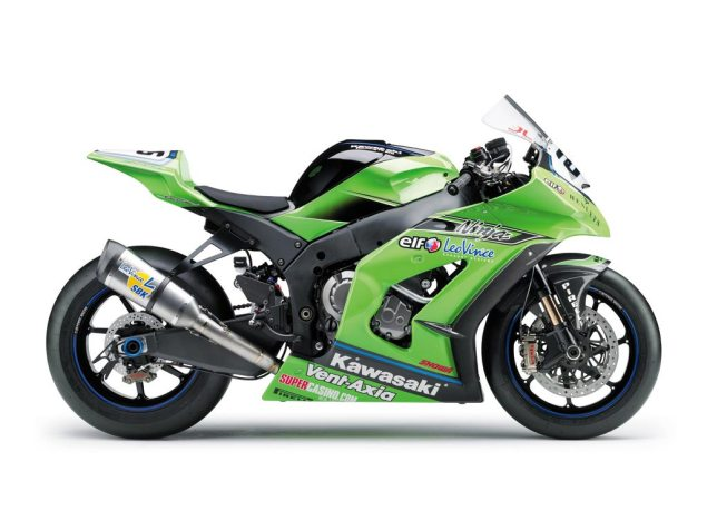 Kawasaki WSBK Trucks Found Trafficking Drugs? 2011 Kawasaki ZX 10R WSBK race 635x476
