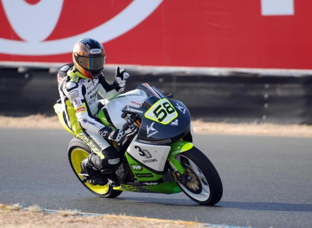 What Does a Record TTXGP Lap at Infineon Look Like? Brammo Empulse RR Infineon lap record 635x464