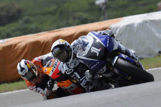 MotoGP: Patience Proves to be a Virtue at the Portuguese GP Jorge Lorenzo Dani Pedrosa Portuguese GP MotoGP 635x423