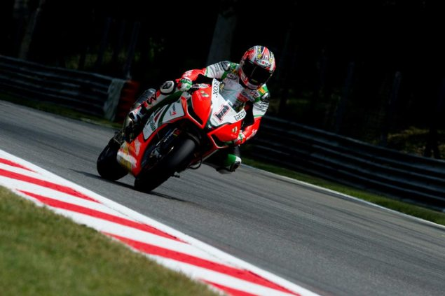 Biaggi Breaks WSBK Top Speed Record at Monza Max Biaggi record top speed Monza 635x423