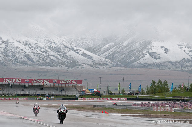 WSBK: Rainy Superpole at Miller Motorsports Park Proves to Be a Challenge for Some Miller Motorsports Park rain Superpole Scott Jones