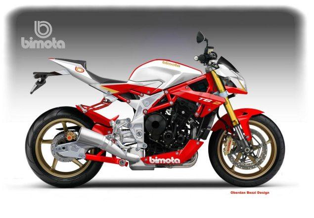 Concept: Bimota TB 2 675 by Oberdan Bezzi Bimota TB 2 675 concept Oberdan Bezzi 635x440