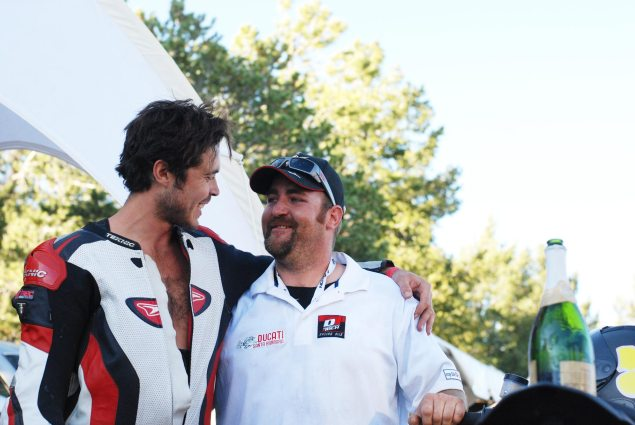 PPIHC: Carlin Dunne Smashes the Pikes Peak International Hill Climb Motorcycle Record   Declared Rookie of the Year Carlin Dunne Sam Swain Ducati Santa Barbara 635x425