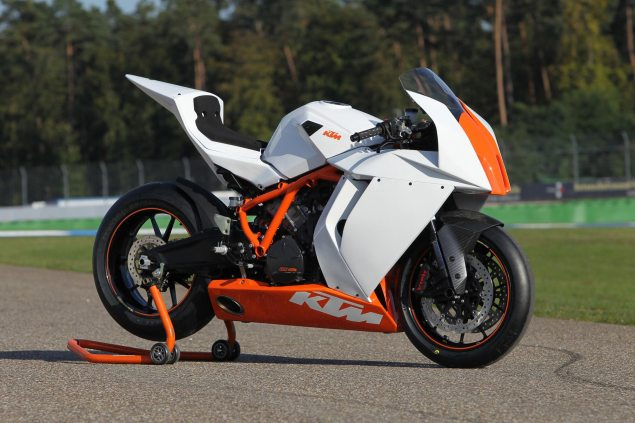 KTM Enters AMA Pro Superbike with Factory Team KTM 1190 RC8 R Race Spec 635x423