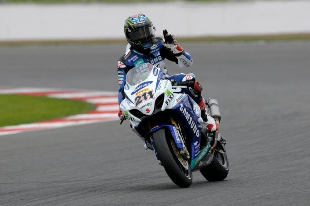 WSBK: Sunshine and Early Knockouts Bring Drama to Superpole at Silverstone John Hopkins Silverstone1 635x421