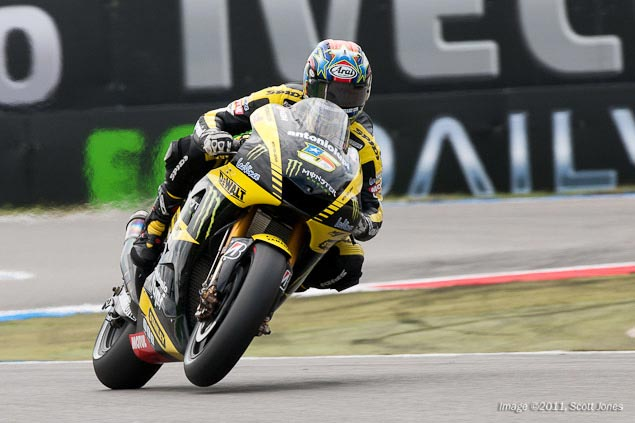 Colin Edwards: Im Not Ready to Retire Colin Edwards Monster Tech 3 Yamaha Scott Jones