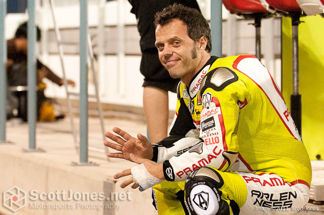 Photo of the Week: The Long Goodbye Loris Capirossi Qatar test Scott Jones