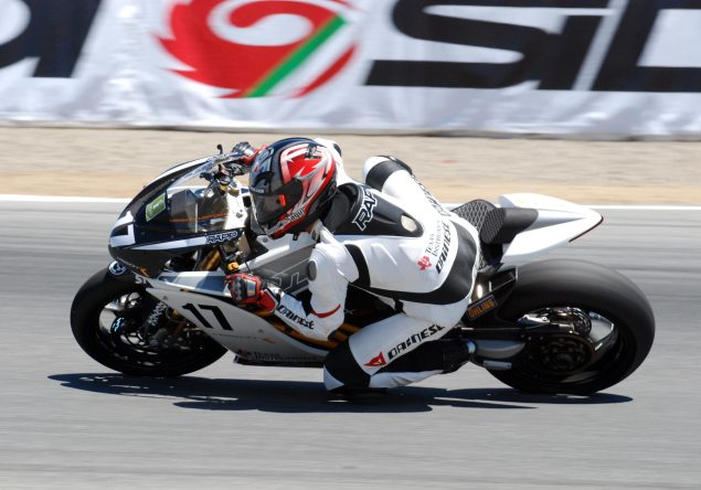 Final TTXGP Round to be Held at Miller Motorsports Park Steve Rapp Mission R Laguna Seca 635x444