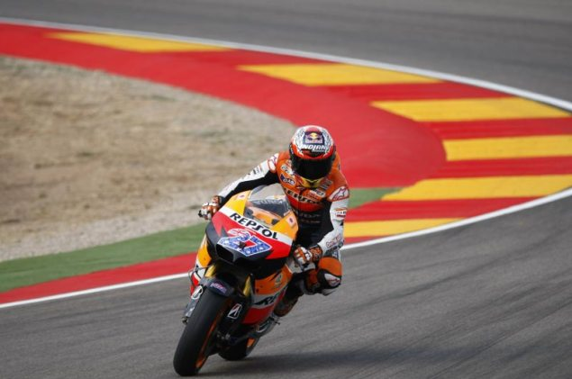 MotoGP: Qualifying at the Aragon GP Casey Stoner Qualifying MotoGP Aragon GP 635x421
