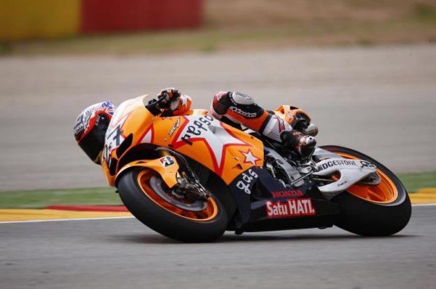 Photos: Special Repsol Honda MotoGP Livery from Aragon Repsol Honda Aragon GP Livery Casey Stoner 635x421
