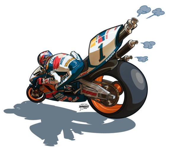 Motorcycle Drawings by Rich Lee Draws!!! Rich Lee Draws 7 635x508
