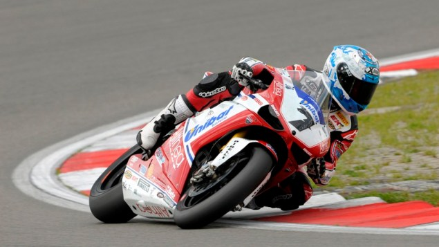 WSBK: A Non Starter Affects the Championship In a Dicey Race 1 at Nurburgring checa nurburgring Althea 2 635x357
