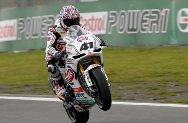 WSBK: Wet Conditions & Heavy Attrition Force a Red Flagged, Shortened Race 2 at Nurburgring haga nurburgring pirelli 635x416