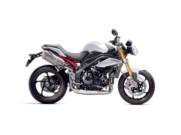 2012 Triumph Speed Triple R Adds Öhlins, Brembo, & PVM 2012 Triumph Speed Triple R 1 635x476