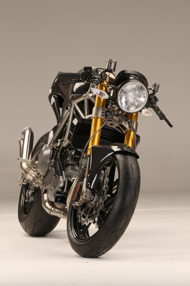 NCR M4 ONE SHOT   Ducati Monster Lovers, Your Christmas Has Been Ruined NCR M4 Carbon Front 635x952