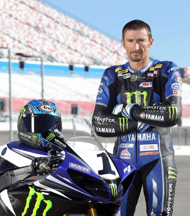 Confirmed: Josh Hayes to Replace Edwards at Valencian GP monster graves yamaha josh hayes 01 635x723