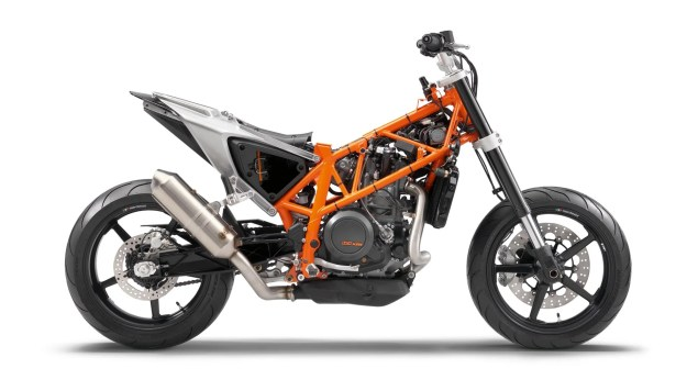 2012 KTM 690 Duke   Cheaper, More Powerful, & ABS 2012 KTM 690 Duke 28 635x356
