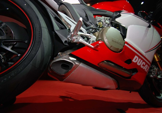 Up Close with the Ducati 1199 Panigale S Tricolore Ducati 1199 Panigale S Tricolore EICMA 23 635x444