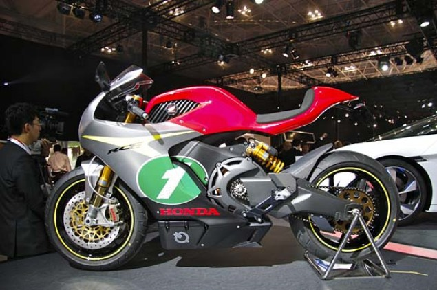 More Photos of the Honda RC E Concept Honda RC E concept Tokyo Motor Show 13